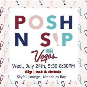 POSH N SIP LAS VEGAS SUMMER 2019 EVENT